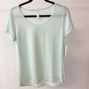 LuLaRoe Classic T Shirt Seafoam Green Small New